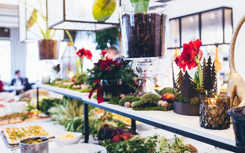 Julbord på restaurang Riviera, foto Andrea Berlin