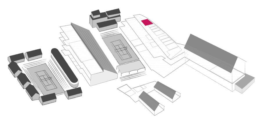 Karta över konferenslokal