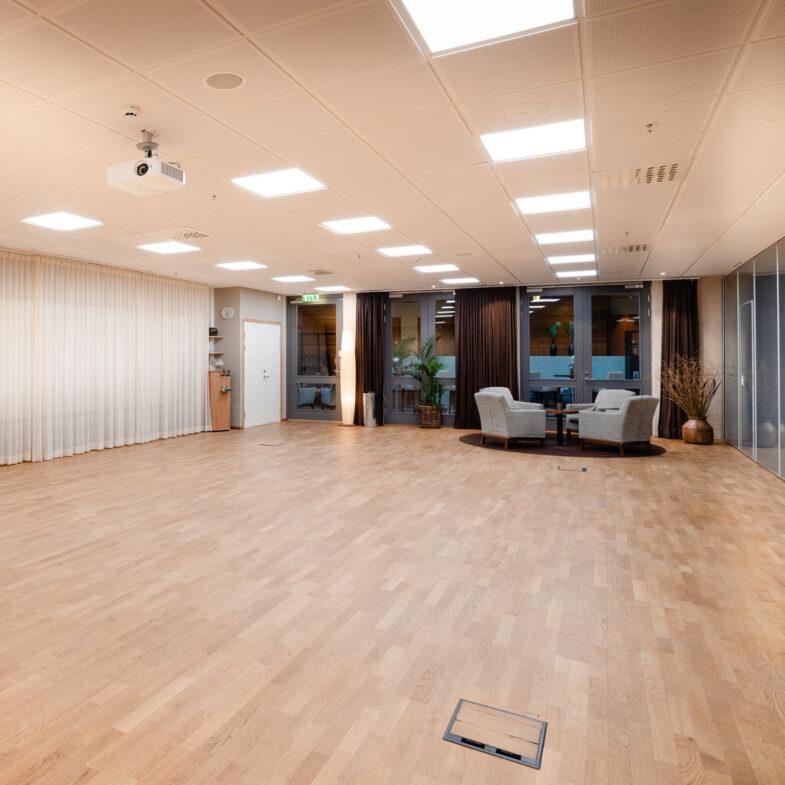 Konferenslokal Bjäre, omöblerad.